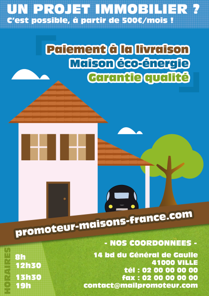 Flyer Immo